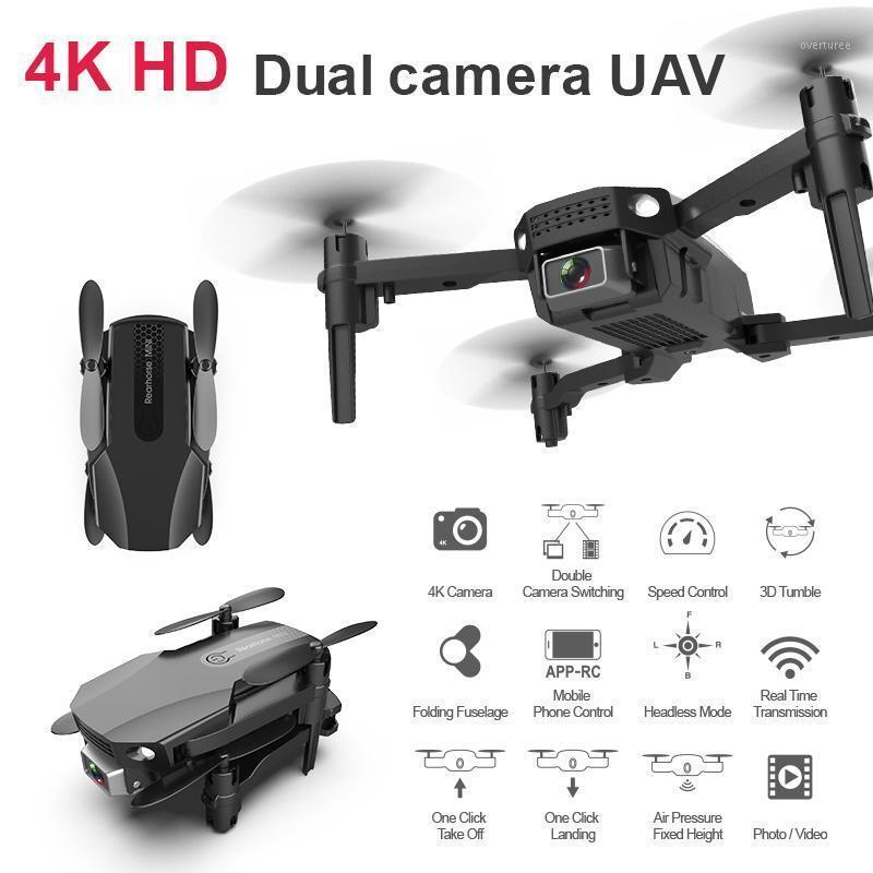 بدون طيار R16 بدون طيار 4K HD المزدوج عدسة مصغرة wifi 1080 وعاء في الوقت الحقيقي ناقل الحركة FPV 2.4 جرام 4chdrone تابعني طوي rcquadcopter toy1