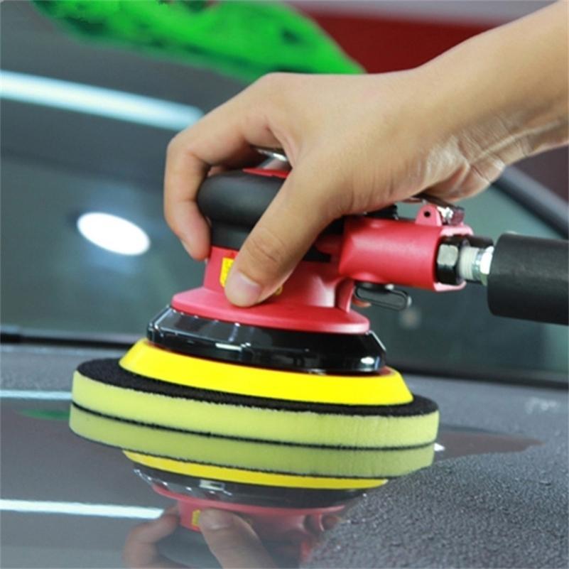 Lavagem Bar Pintura Cuidado Buff Polimento Magia Clay Polonês Esponja Cera Redondo Limpeza Pad de carro Wash 201214