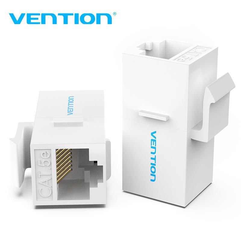 Computerkabeln stecker vention cat5e connector rj45 kupplung ethernetkabel cat 5e weiblich bis zum Extender-Erweiterungsadapter für