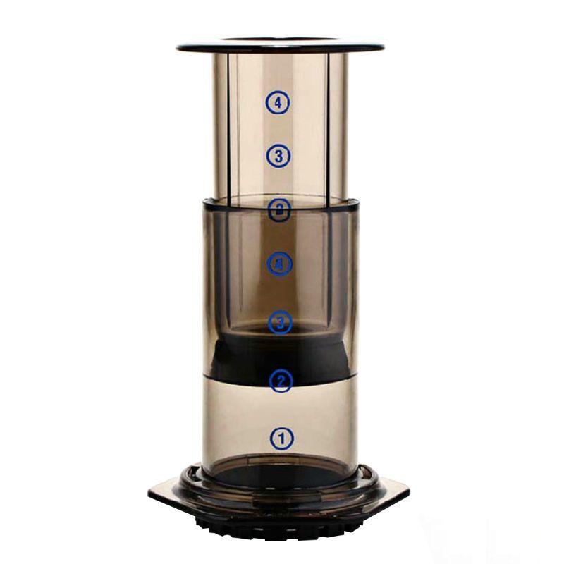 2020 Novo Novo Filtro de Vidro Espresso Cafeteira Café Portátil Café Francês Press CafeCoffee Pot para Aeropress Machine C1030