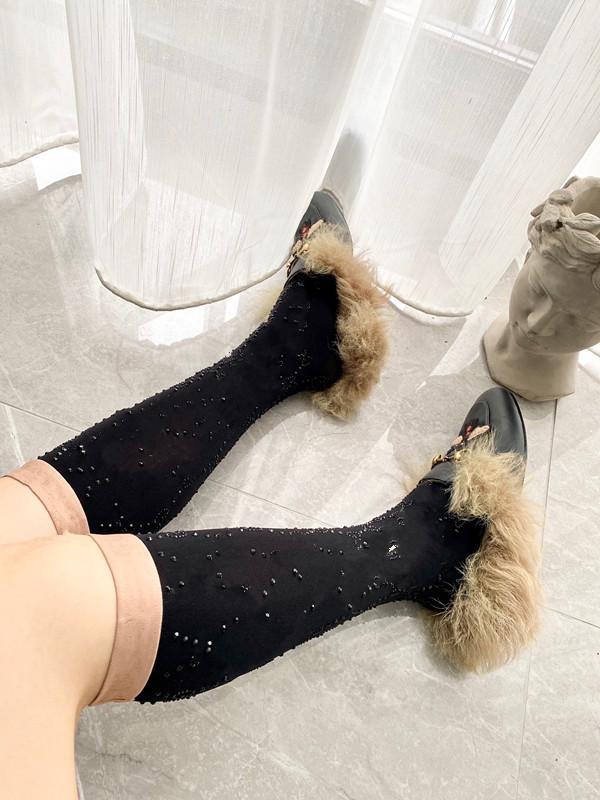 Yeni Tasarımcı Rhinestone Mesh Hosiery Çorap Çorap Kadınlar Için Moda Bayanlar Kızlar Streetwear Spor Mektubu Çorap Çorap Sıcak Satış