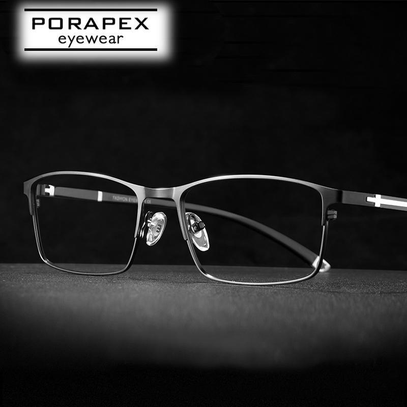 High Quality Mens Eyeglass Frame Optical Prescription Glasses Frame For Men Ultralight Eyeglasses Spectacle armao de oculos T200812