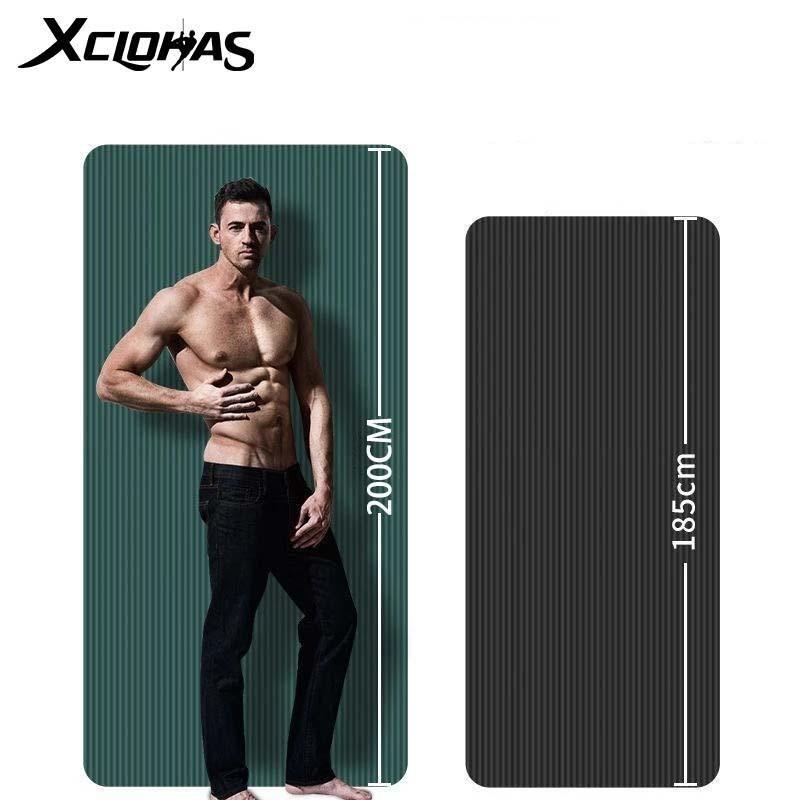YOGA MATS XC LOHAS Толстый мат Дополнительные упражнения для спортивных фитнес безвкусный Pads Gymnastics Pilates Home