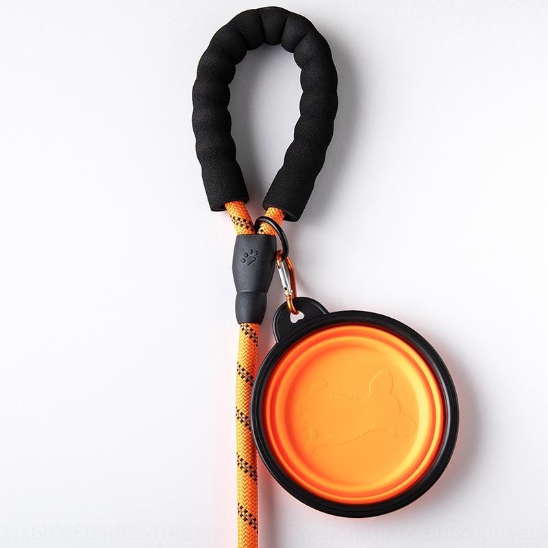 OYMT5 Nylon réfléchissant Nylon rond EXPLOSION Poignée en mousse de mousse de la ceinture de la courrande de la corde de corde de corde traction de corde ropesuit