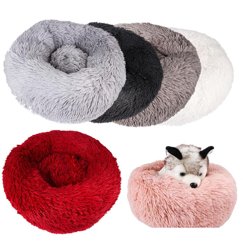 1 unids Soft Dog Bed Lavable Kennel Larga Peluche Cat Mats Sops Sofá Para Perro Chihuahua Perro Cesta Caliente Cama Mascota 201223