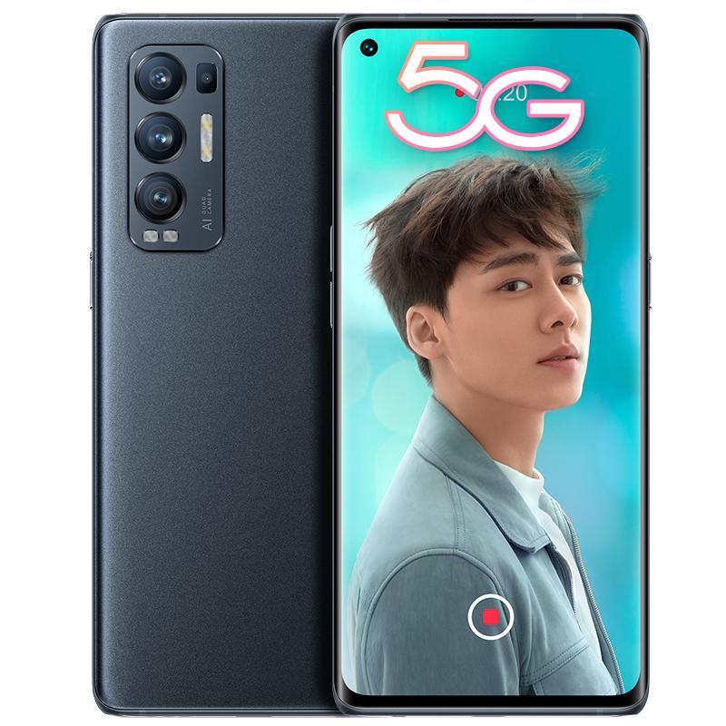 "Original Oppo Reno 5 PRO + PLUS 5G Mobiltelefon 8 GB RAM 128 GB ROM Snapdragon 865 50MP EIS Android 6.55 ""Vollbild-Amoled-Gesichts-ID-Handy"""