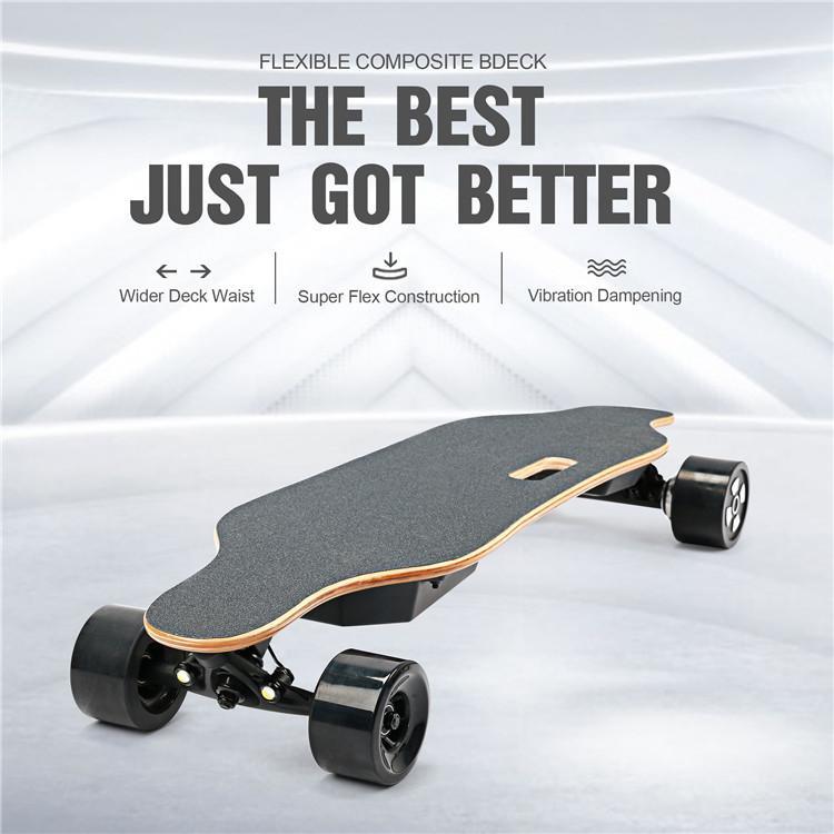 STOCK IN USA 4 Räder Günstige Longboard elektrisches Skateboard mit 90mm Rad 40km / h Sports Scooter W34807114