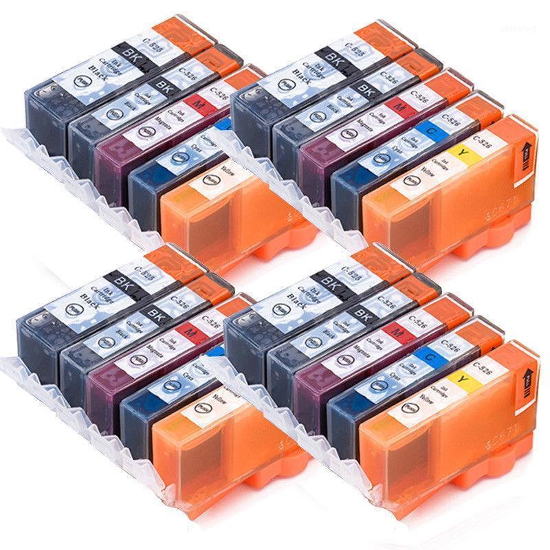 20x PGI-525 CLI-526 XL Cartucce d'inchiostro per Canon Pixma IP4850 IP4950 MG5150 MG5250 MG5350 MG6150 MG6220 MG6250 MG81501