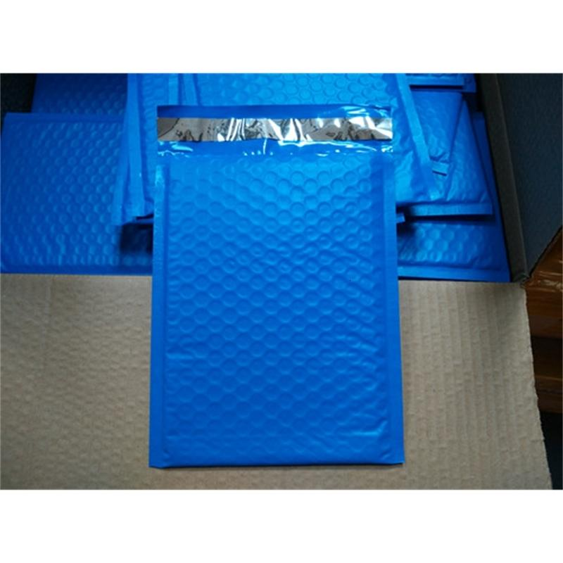 Style [PB#69+]- Blue 6.5X9inch / 165X229MM Wholesale-New Usable space Poly bubble Mailer envelopes padded Mailing Bag Se