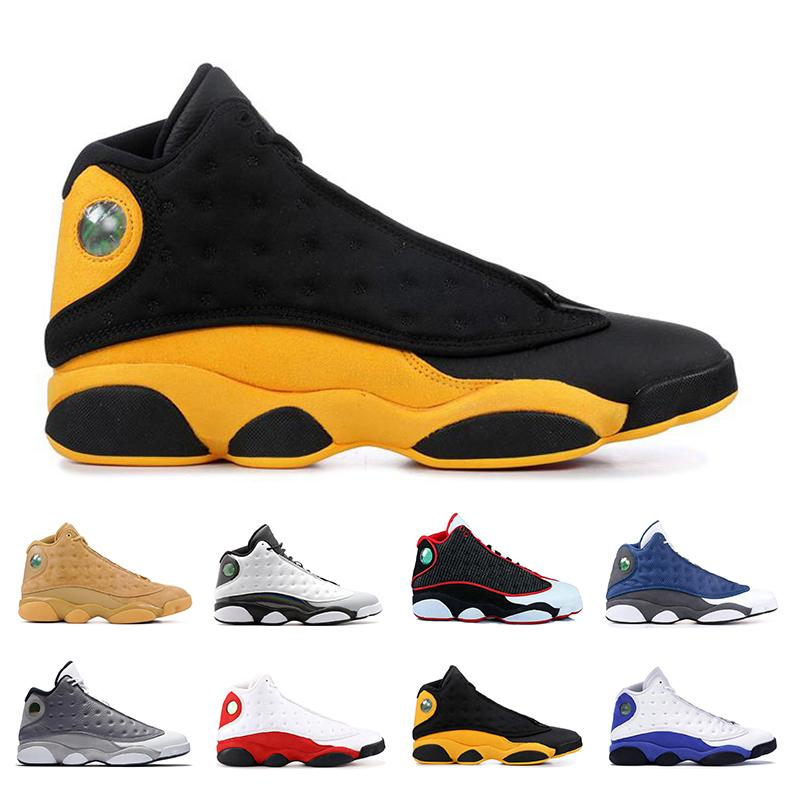 top basketball shoes 13 Jumpman He Got Game reverse Runner Court Purple Cap and Gown Bred 13s sports sneaker mens trianers