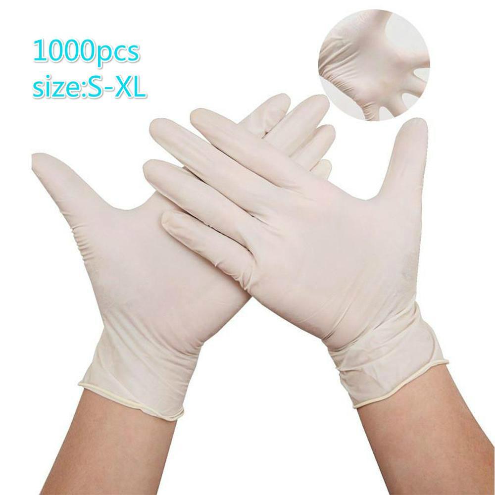 Heiße Verkaufs-Einweghandschuhe 100pcs / lot PVC-Schutzhandschuhe Fabrik Salon Bouncy Haushalt Gummi-Handschuhe Garten Schneller Versand
