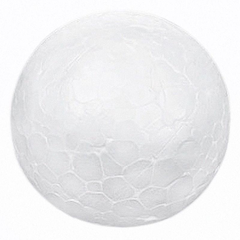 10 x Noel Dekorasyon Modelleme Craft Polistiren Köpük Topu Küre 10cm --- Beyaz T5Cl #
