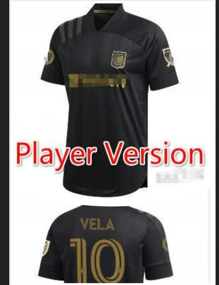 Top Thai 2021 Inter Miami Beckham PIZARRO LAFC Vela Soccer Jersey 2021 Los Angeles FC LA Galaxy Chicharito Maillot de football Hommes enfants kits ensemble