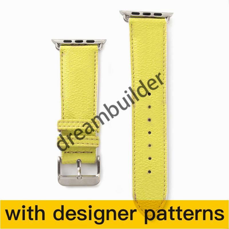 L أزياء watchbands ل فون ووتش باند 42 ملليمتر 38 ملليمتر 40 ملليمتر 44 ملليمتر iwatch 3 4 5 العصابات الجلود حزام سوار المشارب watchband إسقاط