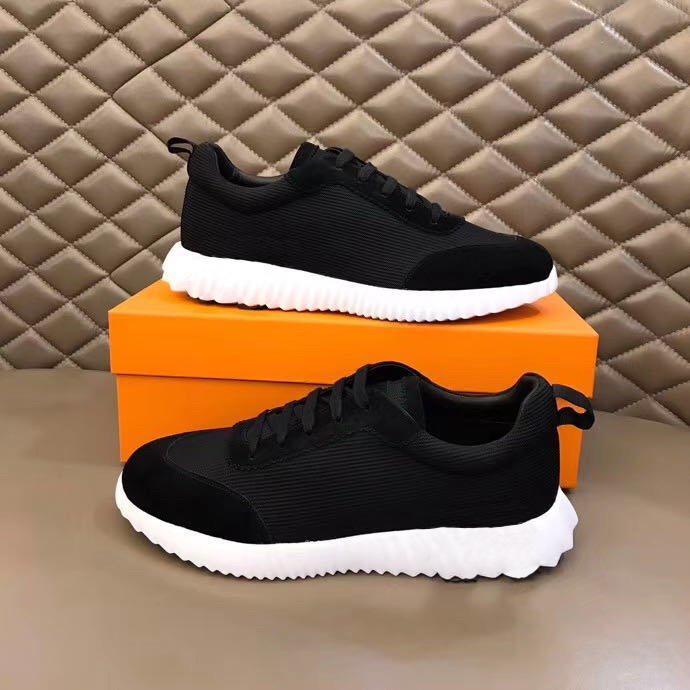 2021 Chaussures Chaussures Men's 38-45 Designer Derniers baskets de taille occasionnels pour hommes Baskets de tendance confortables Bounce Fashion Mfdia