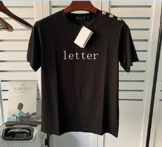Mode Mens T-shirts Lettre Hommes Impression T-shirts T-shirts Designer T-shirts Femme Skateboard À Manches courtes T-shirts occasionnels