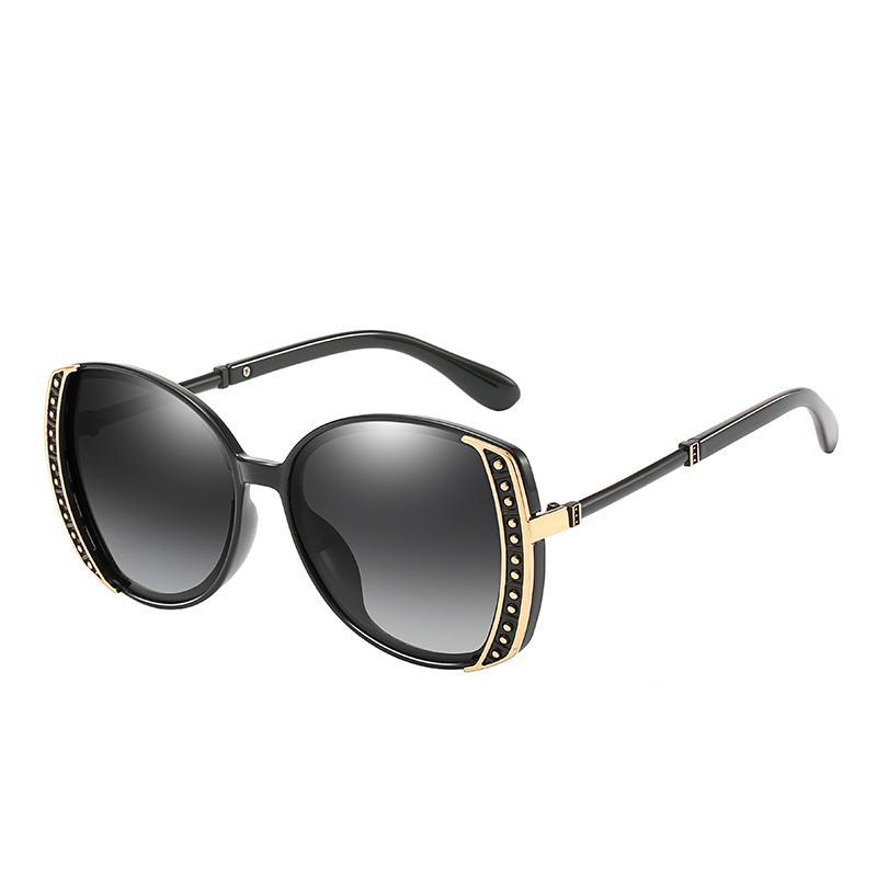 Les nouvelles lunettes de soleil de qualité supérieure 2019 haut de gamme de la mode féminine de la mode haut de gamme de dames classique dames lunettes de conduite Livraison gratuite