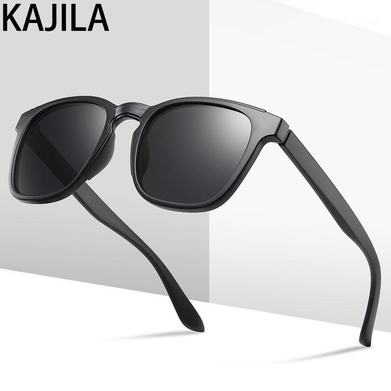 Occhiali da sole polarizzati quadrati Uomo Nuovo Arrivo 2020 TR90 Brand Designer Fashion Commercio all'ingrosso Viaggiando bicchieri da sole per man33071