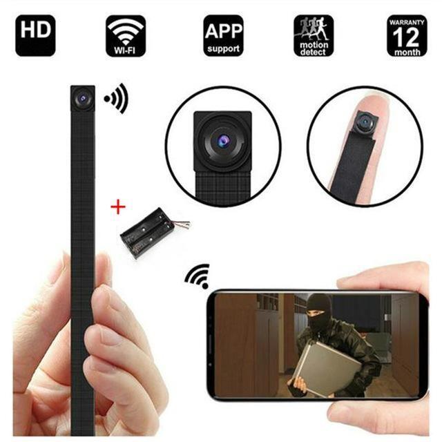HD 4K DIY Portable WiFi IP Mini Camera P2P Wireless Micro webcam Camcorder Video Recorder Night vision Remote View support 128g