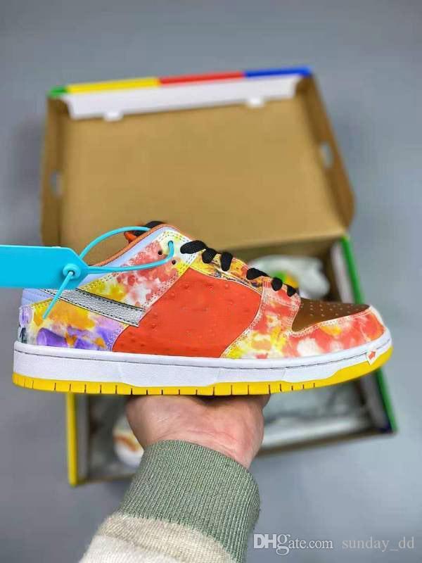 2021 Satış Otantik Dunk SB Düşük Pro Sokak Hawker Kaykay Ayakkabı Kabartmalı Süet Sneaker Erkek Kadın Açık Spor Ayakkabı Kutusu Boyutu 36-46