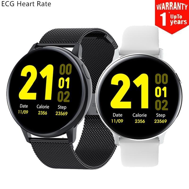 S30 الذكية ووتش ECG معدل ضربات القلب الساعات الجسم درجة حرارة النوم مراقب ماء smartwatch لالروبوت ios galaxy Active2 # 6