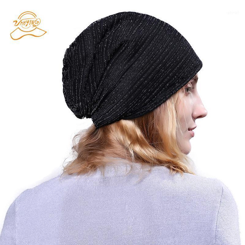2020 Cappelli invernali per le donne Cappello a maglia a maglia Cappello per ragazze Cappello di marca di lana Cappello femminile e maschio Skullies Coppie Cappelli di lana1