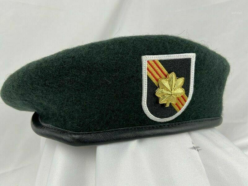 Vietnam War US Army 5st Special Forces Group Béret Major Insignia Hat Store1