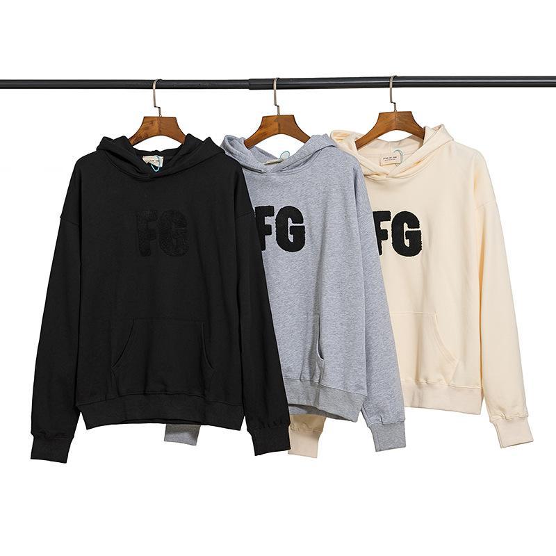 Nova Moda Homens Mulheres Com Capuz Sweater Fogg Manga Longa Camisola Com Capuz Esportes Pullover Primavera Outono Inverno Esportes Roupa Casual Outfit