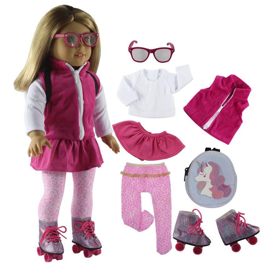 Amerikan Doll veya Bizim Nesil Doll, 1011 18 İnç Doll Aksesuarlar X119 için seçim 18 İnç Doll Giyim Birçok Stil