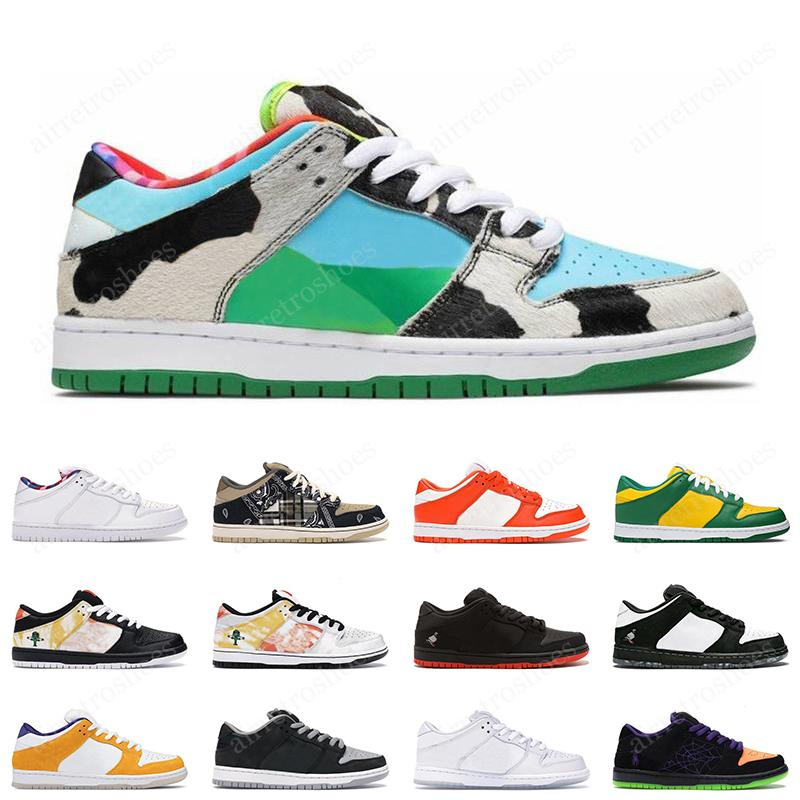 2020 Nike SB Dunk Low Chicago Chunky Dunky Low Dunk Brazil Panda Pigeon baskets de sport pour hommes