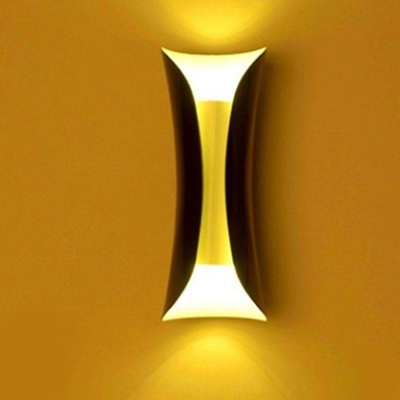 fundo lâmpada de cabeceira lâmpada de parede do corredor lâmpadas LED simples modernos personalidade pequena lâmpada de parede cintura corredor quarto