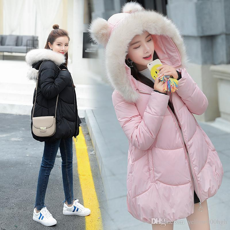 New Winter Pregnancy Wear Coat Pregnant Coats Maternity Clothing Maternity Down Jacket Women Outerwear Hooded Warm Clothes