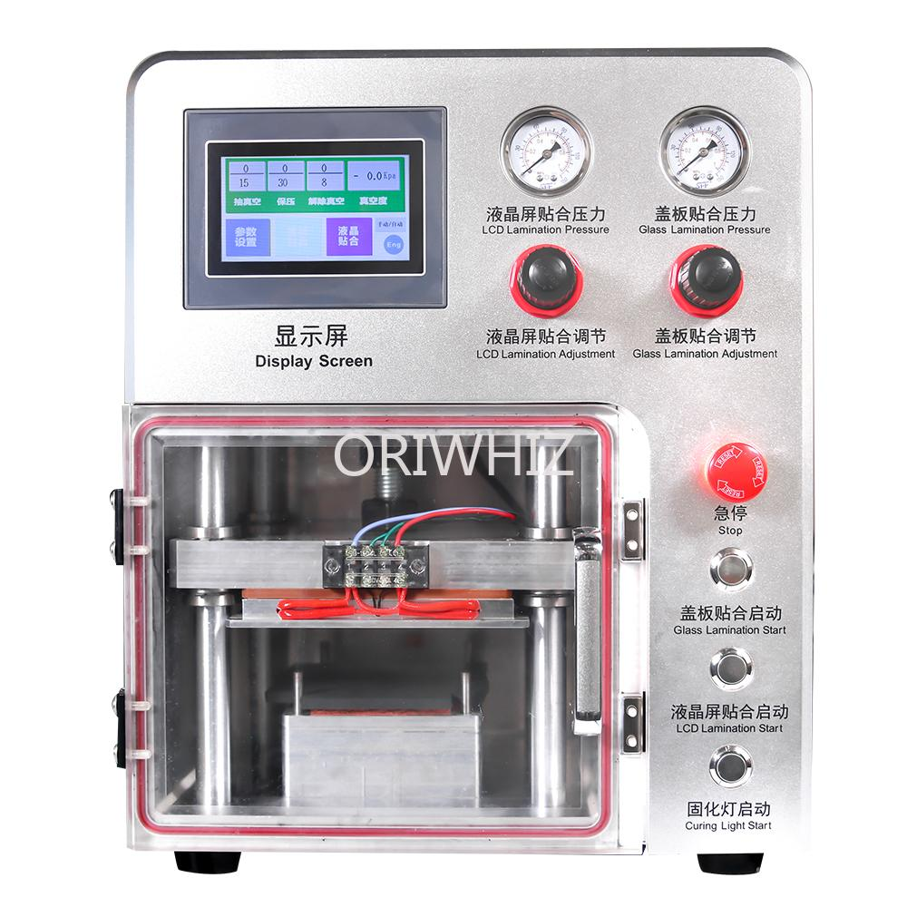Per lo schermo della curva LCD Usato Macchina per laminazione del vuoto OCA senza bolla Macchina automatica Automator Automator per macchina rinnovata LCD