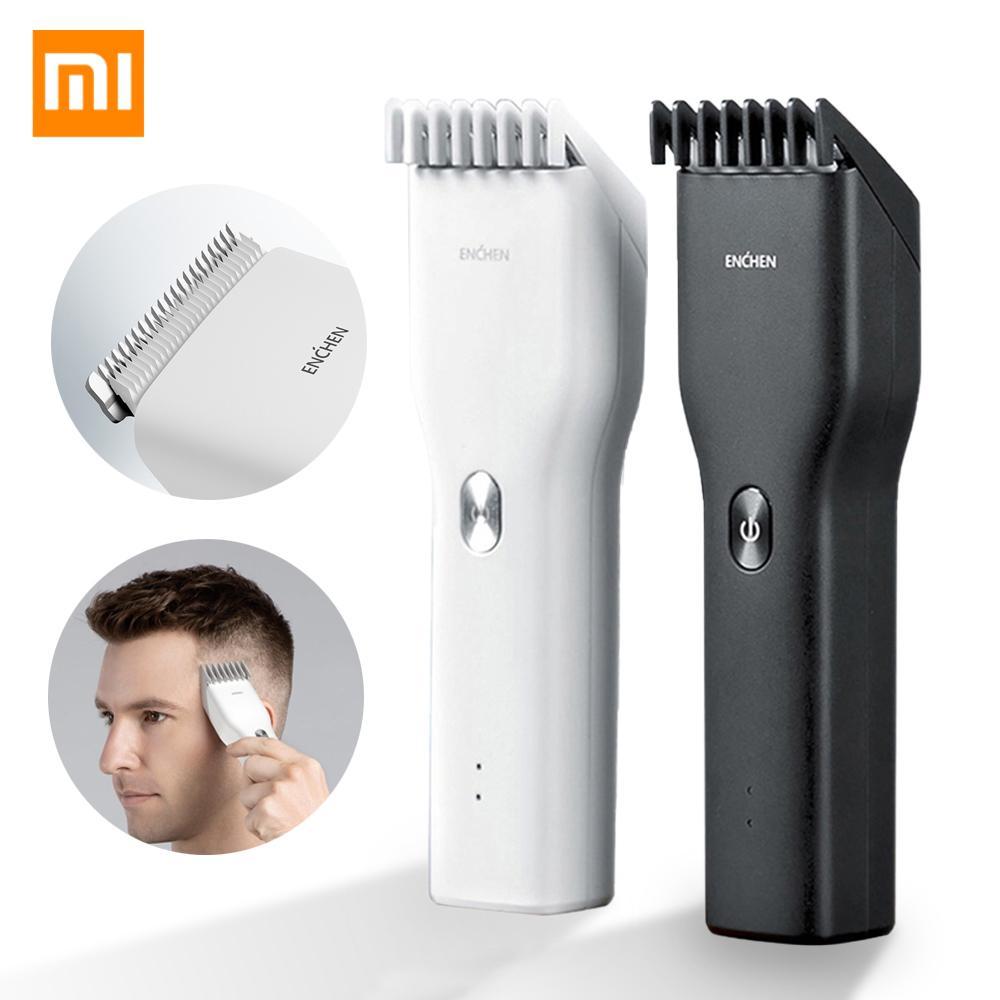 XIAOMI مي Enchen تفعيل USB الشعر الكهربائية المقص اثنين من سرعة السيراميك القاطع الشعر شحن سريع الشعر المتقلب
