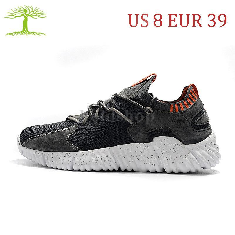 US 8 EUR 39 Hohe Qualität Baumperi Charme Geschwindigkeit Socken Trainer 3.0 Laufschuhe Dunkelgrau Orange Für Männer Frauen Sport Turnschuhe