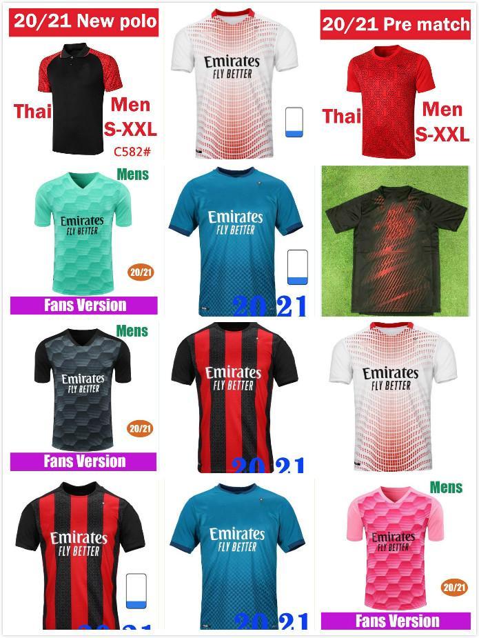 20 21 Fussball Jersey Ibrahimovic Paqueta Bennacer Romagnoli Calhanoglu 2020 2021 Football Hemd Tonali Rebic Maillot Männer + Kinder Kit