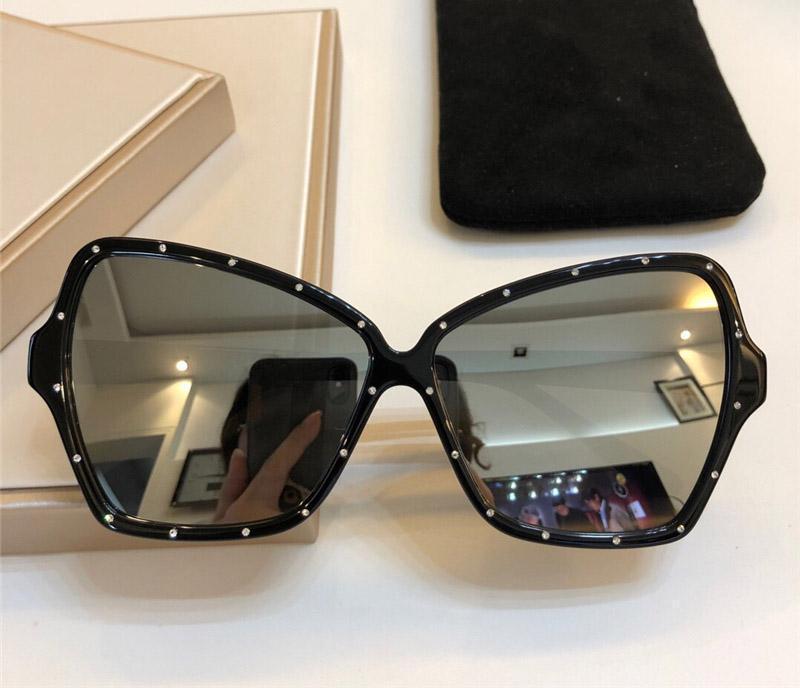 Popular nova marca óculos de sol designer 4s066 Encantador quadro de borboleta com diamante sol óculos tendência personalidade estilo uv400 Proteção