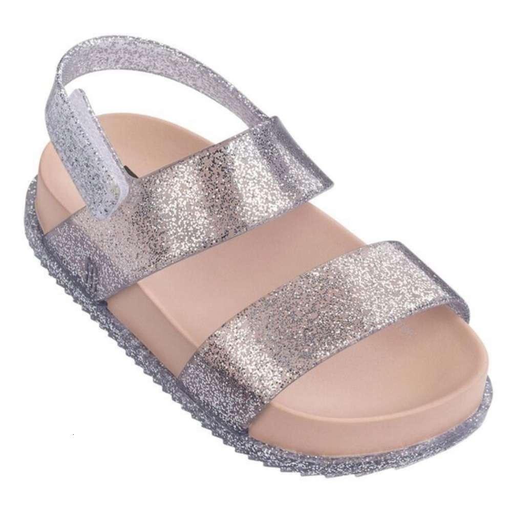 Melissa Mismos cinturones Double Boys Girls Sandals Roman Sho Zapatillas para niños