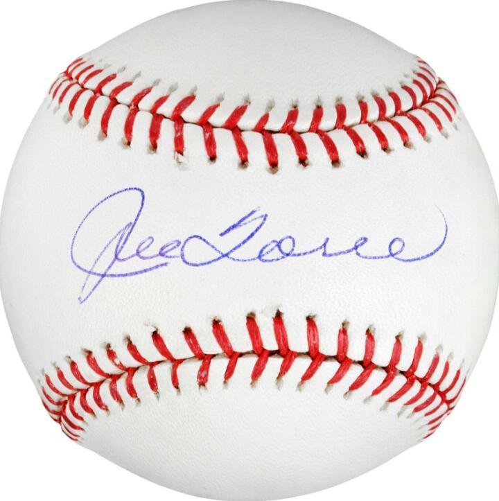 colección, Joe Torre autografiada signatura EE.UU. Latina cubierta exterior sprots la Liga Mayor de la bola del béisbol