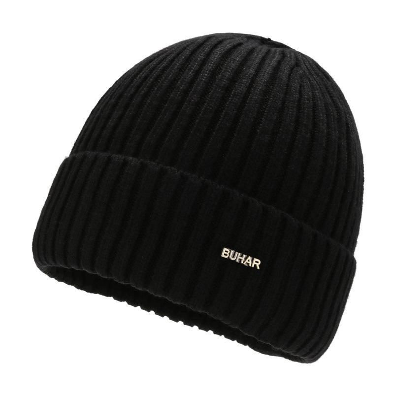 Трикотажные мужские теплые зимние плюшевые толстые анти холодные шерстяные молодежи пуловер крышкой ухо ветрозащитный хип-хоп шляпа