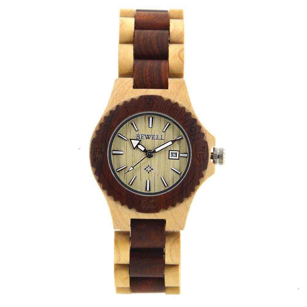 Смотреть деревянные мужские часы Простой атмосферный Beell Wood Watch