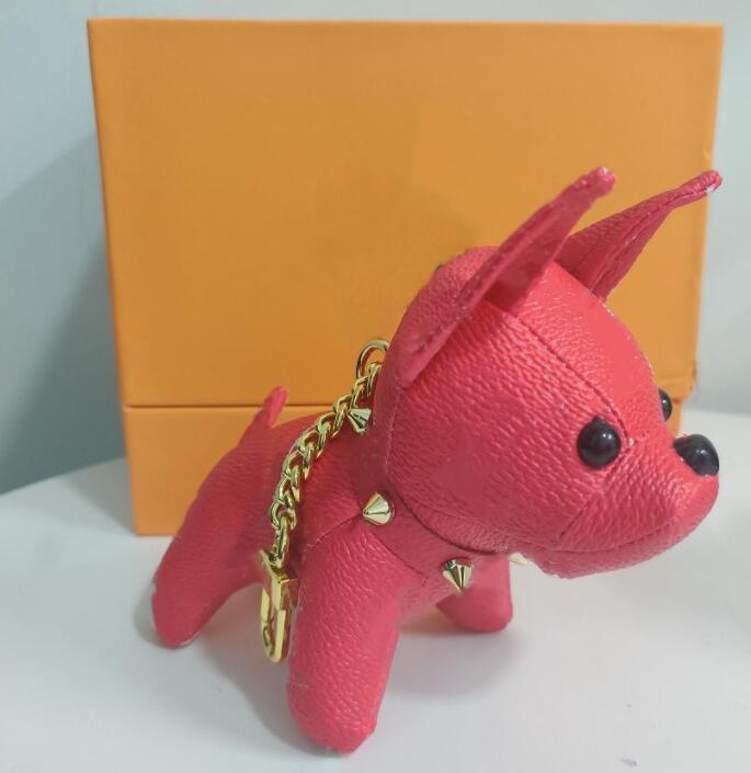 베스트 셀러 키 체인 패션 키 버클 지갑 펜던트 가방 개 인형 체인 키 버클 키 체인 6 색