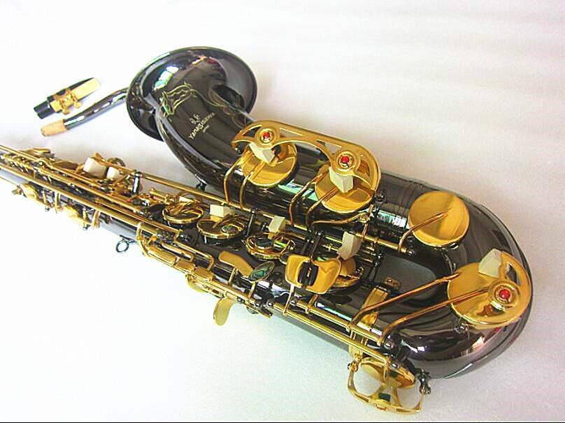 Yanagisawa جديد تينور ساكسفون جودة عالية ساكس ب شقة شقة تينور سيكس اللعب باحترافية فقرة الموسيقى ساكسفون الأسود هدية