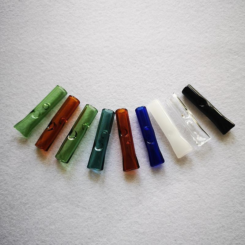 Mini Renkli Sigara Borular Pyrex Cam Yağ Brülör Borular Cam Filtre Tütün Borular Aksesuar SW47 Sigara