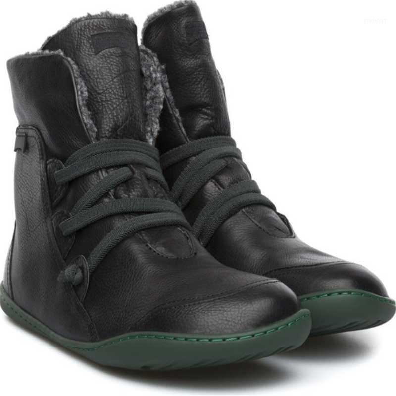 Bottes Produits 2021 Winter Rond Toile plat Chaud Tube à mi-tube Snow Selling Shoes1