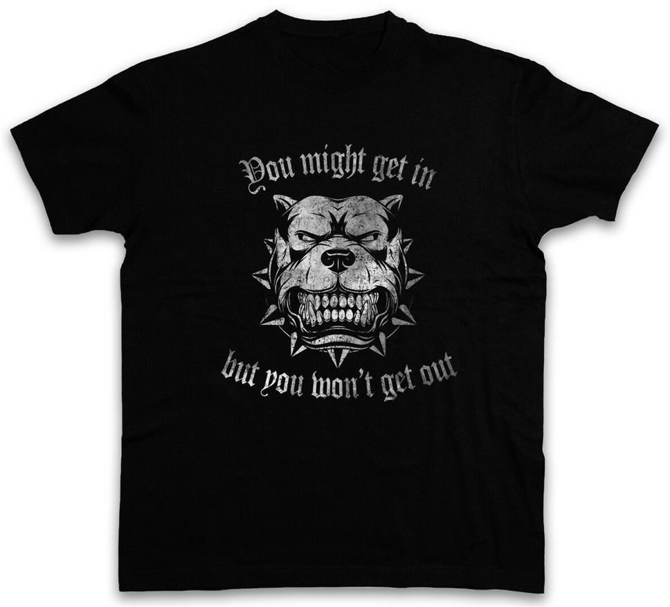 Usted puede obtener Pitbull En Bad Dog Fight Combat Ataque bullterier proscrito Classic Custom Design diseñadores sudadera con capucha camisetas sudadera