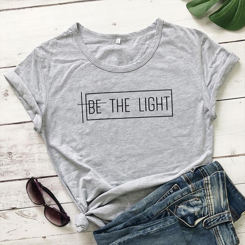 Camisas inspiradas Mujeres Católica Católica Fe gráfica Christian Church Tshirt Tshirt La moda nueva ser Jesús Religios Tops CDFGO