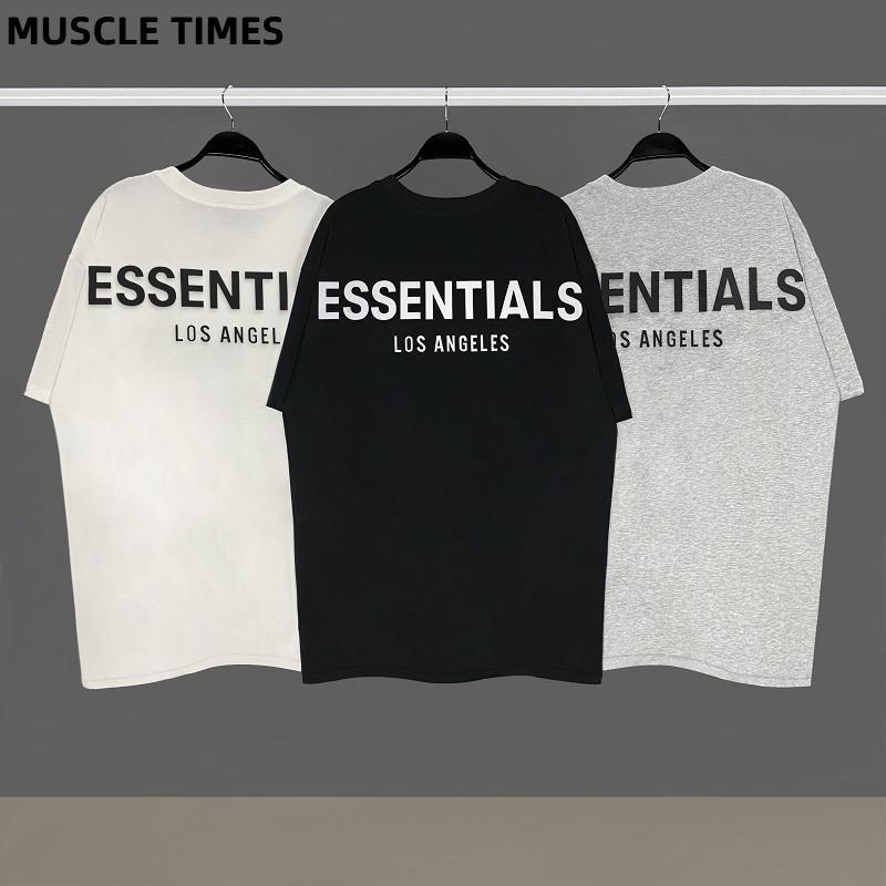 Fog Essentials Hommes et Femmes Coton Coton T-shirt T-shirt Slim T-shirt Homme Marque Tees Tops Nouveau Mode Vêtements occasionnels X1227