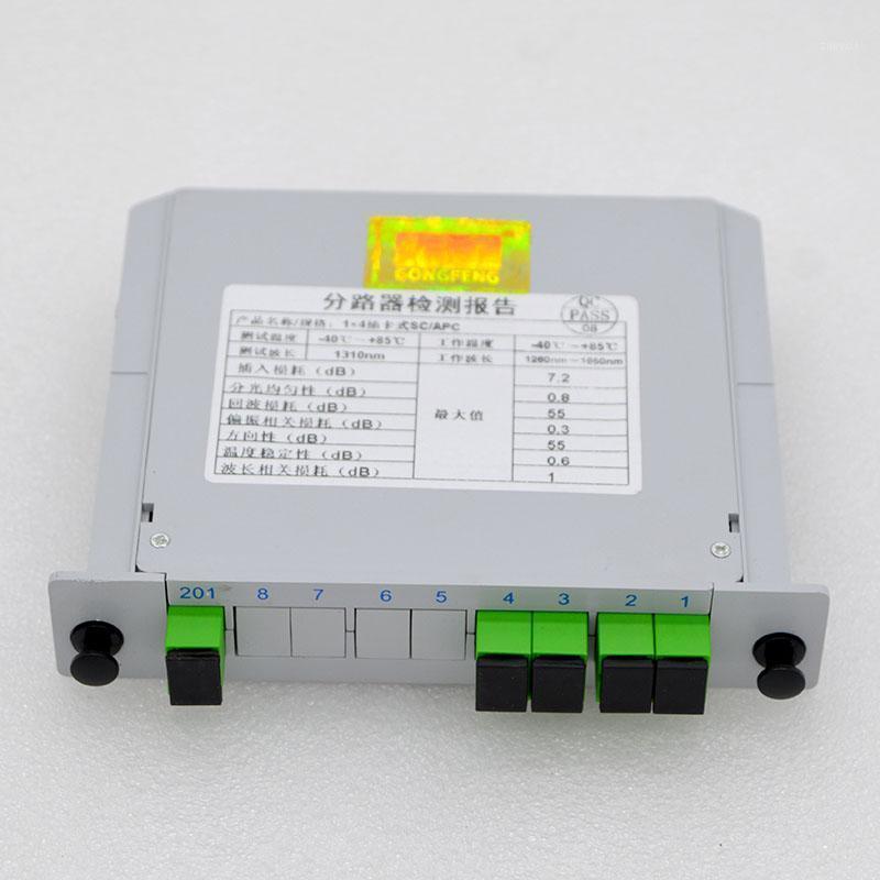 Волоконно-оптическое оборудование 10шт кассета вставок типа 1x2 / 4/8 Splitter Box SC / APC оптом1