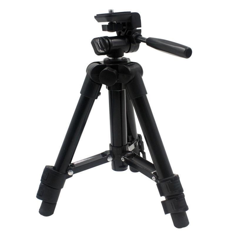 Tripés Profissional Extensível Liga de Alumínio Video Tripé Monopod com suporte de placa de liberação rápida
